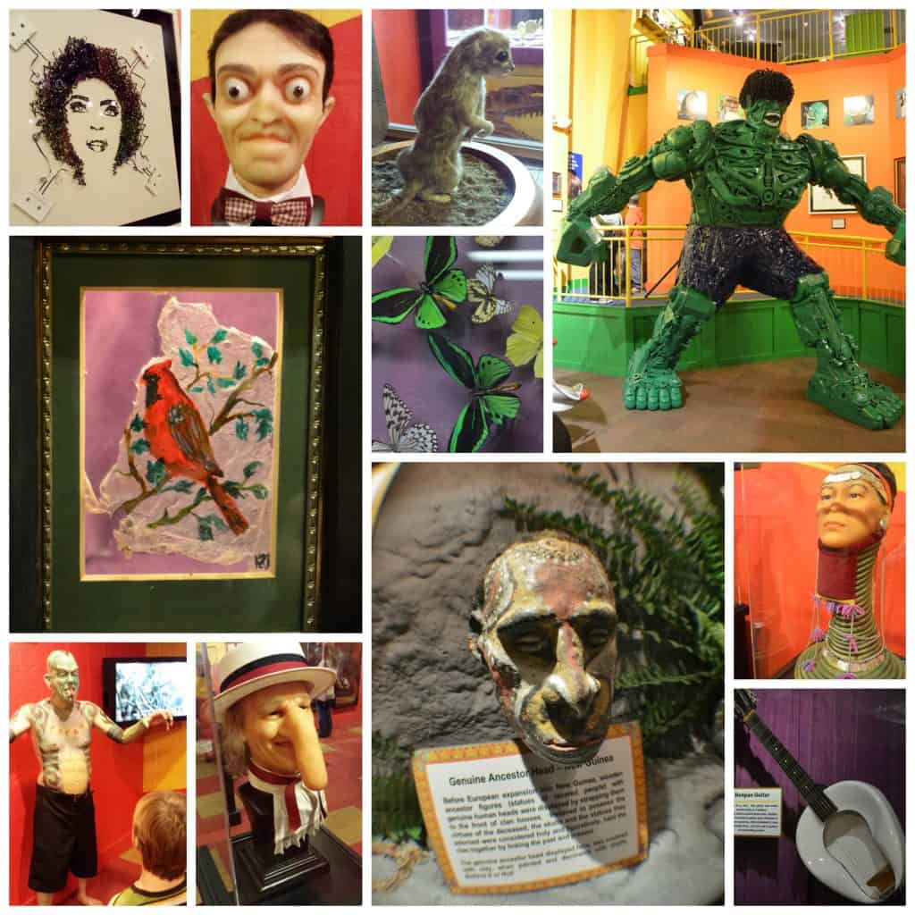 Ripleys Branson Odd Collage
