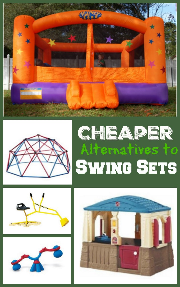 Cheaper Alternatives to Swing Sets