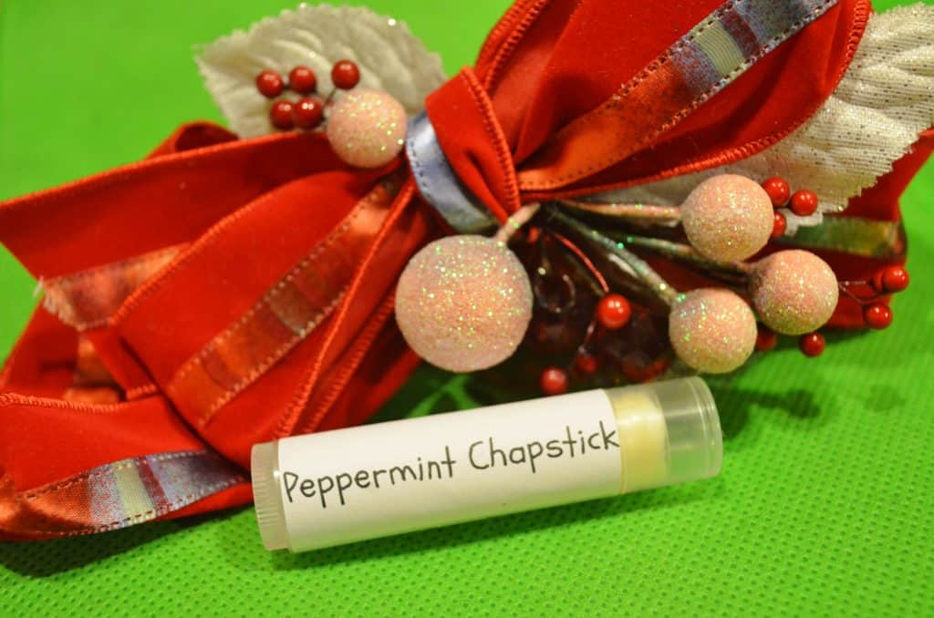 DIY Homemade Organic Chapstick Recipe