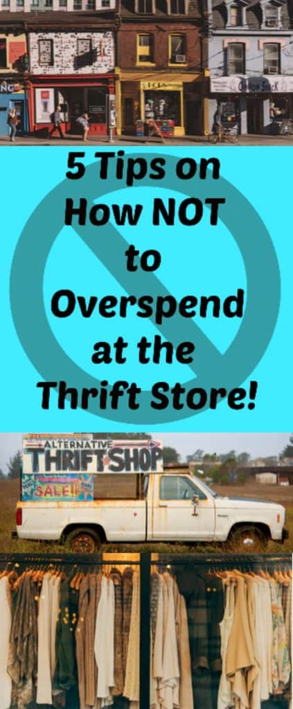 How Not to Overspend at the Thrift Store