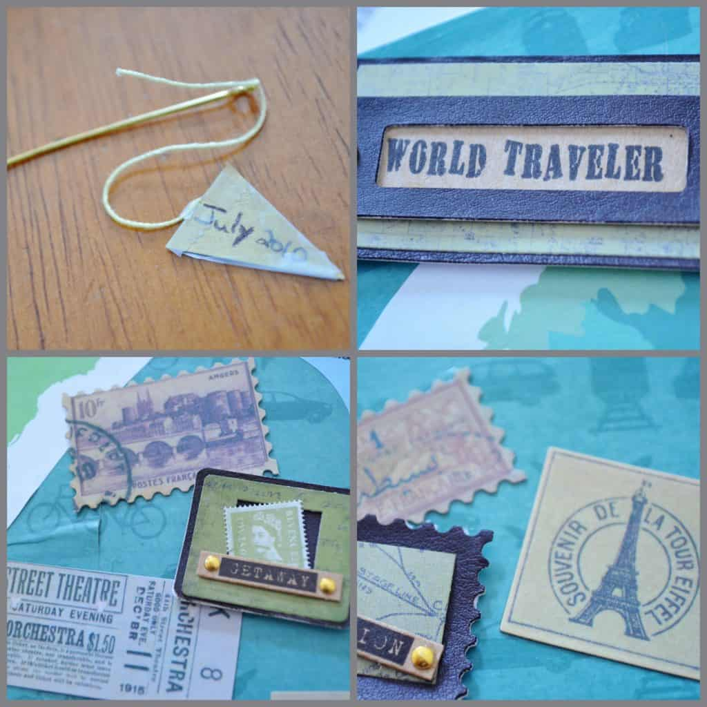 travel collage craft Collage