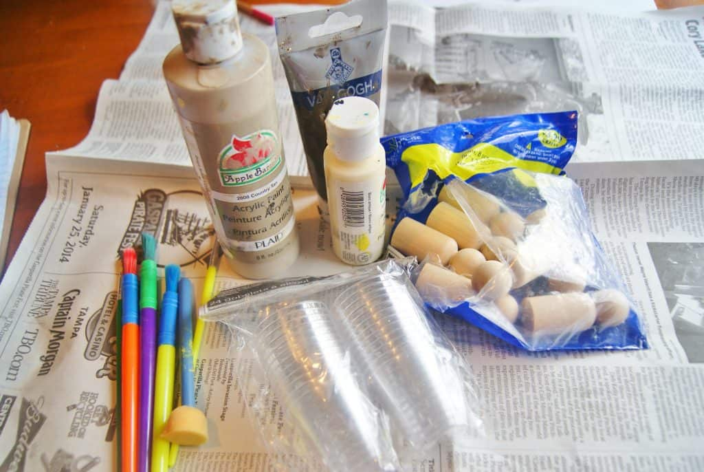 craft supplies for multi-cultural project