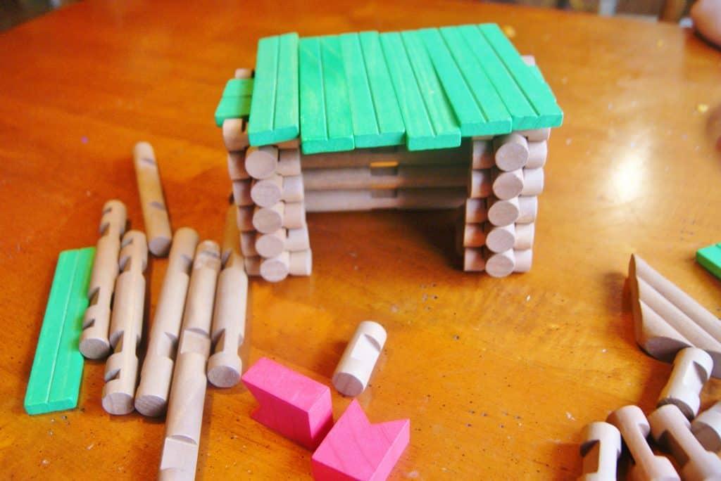 lincoln logs cabin