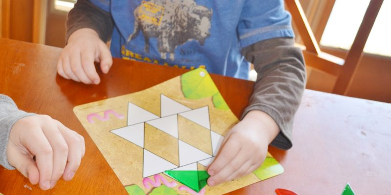 Shapes Don't Bug Me Geometry Activity Set Review by Learning Resources