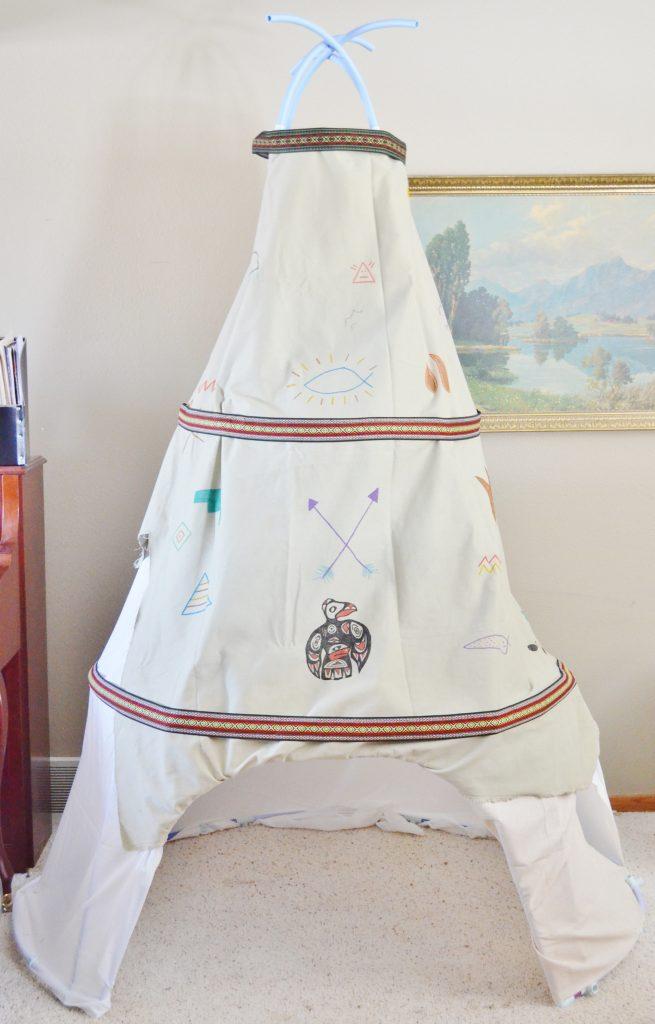 fort magic native american teepee