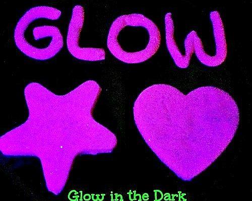 Glow in the Dark Play Dough - Glow