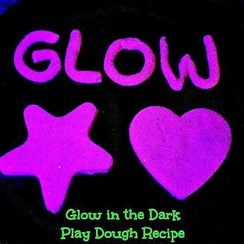 Glow in the Dark Play Dough - Glow 2 TAGGED