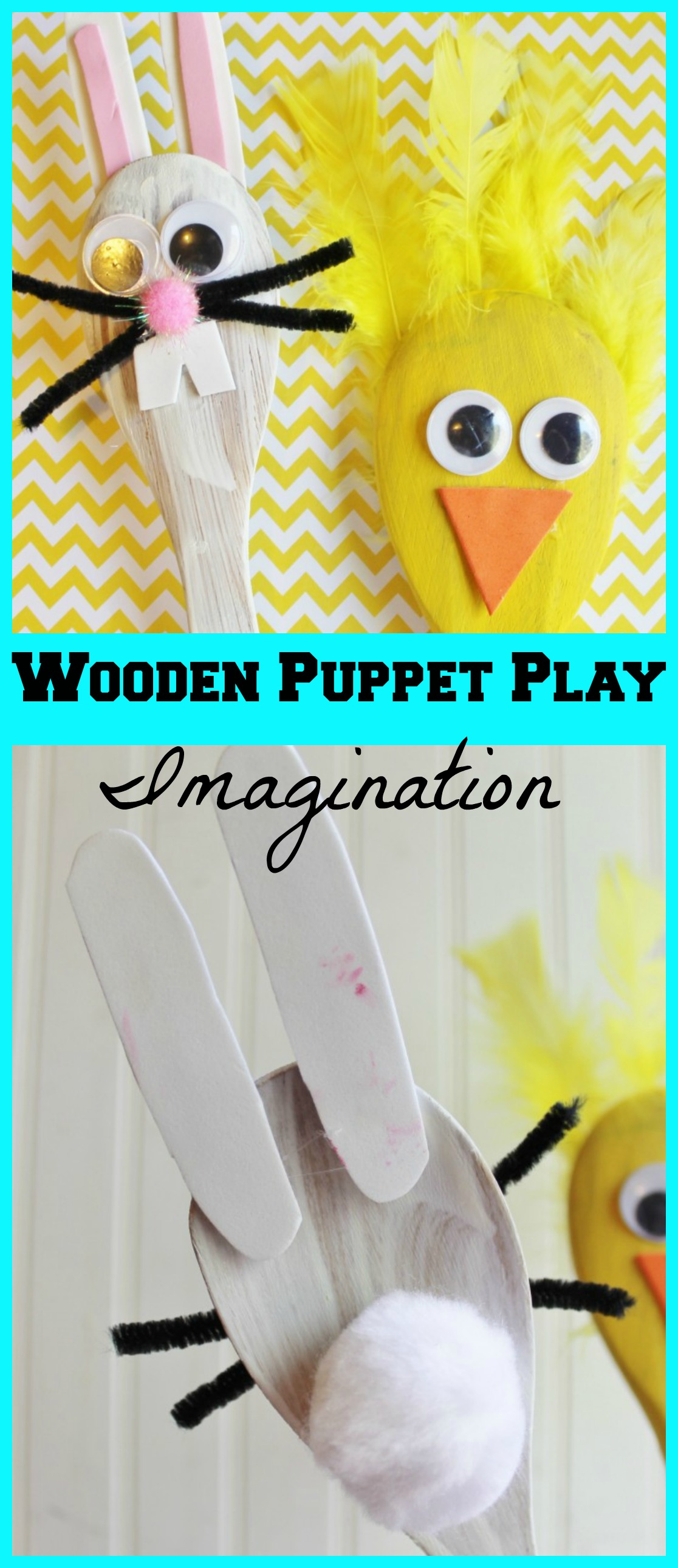 Wooden Puppet Play IMagination