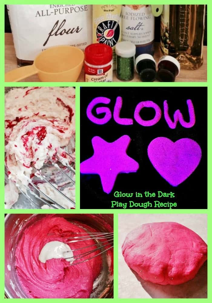 Glow in the Dark Play Dough Recipe for Kids