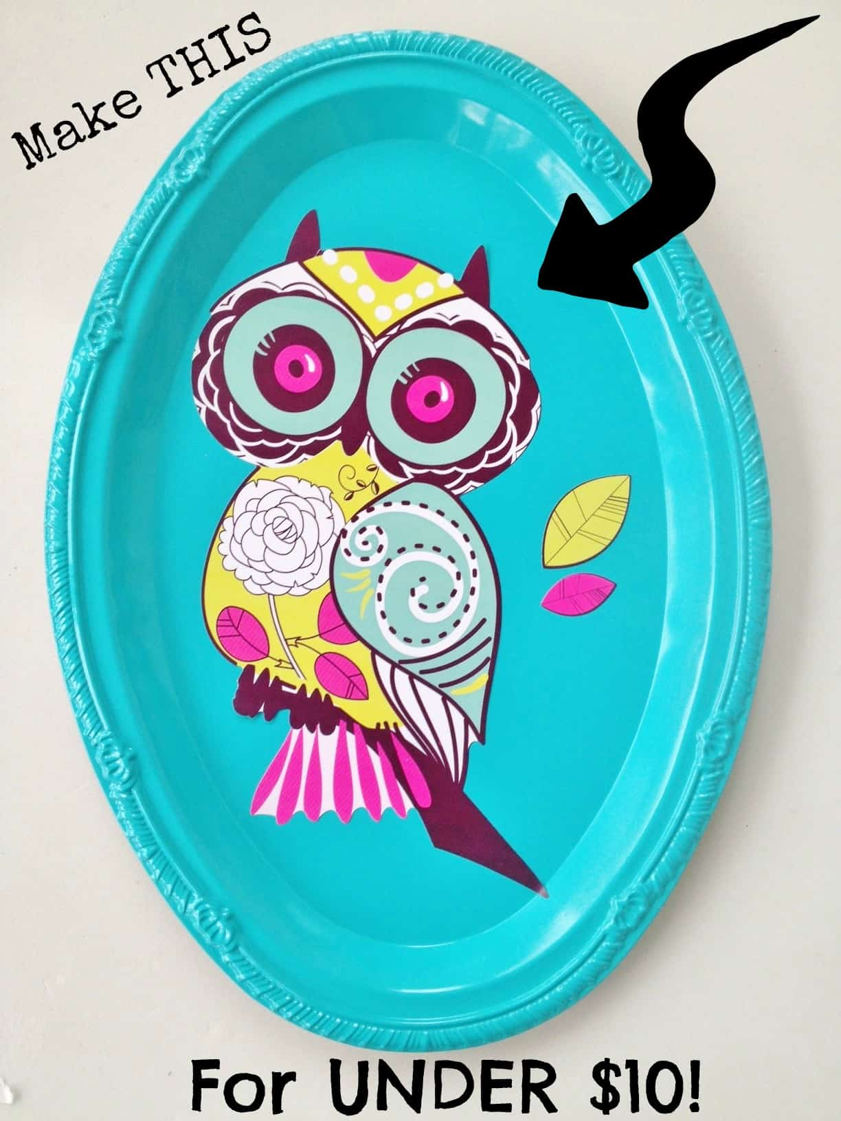 Mother S Day Home Decor Plaque Craft For Kids