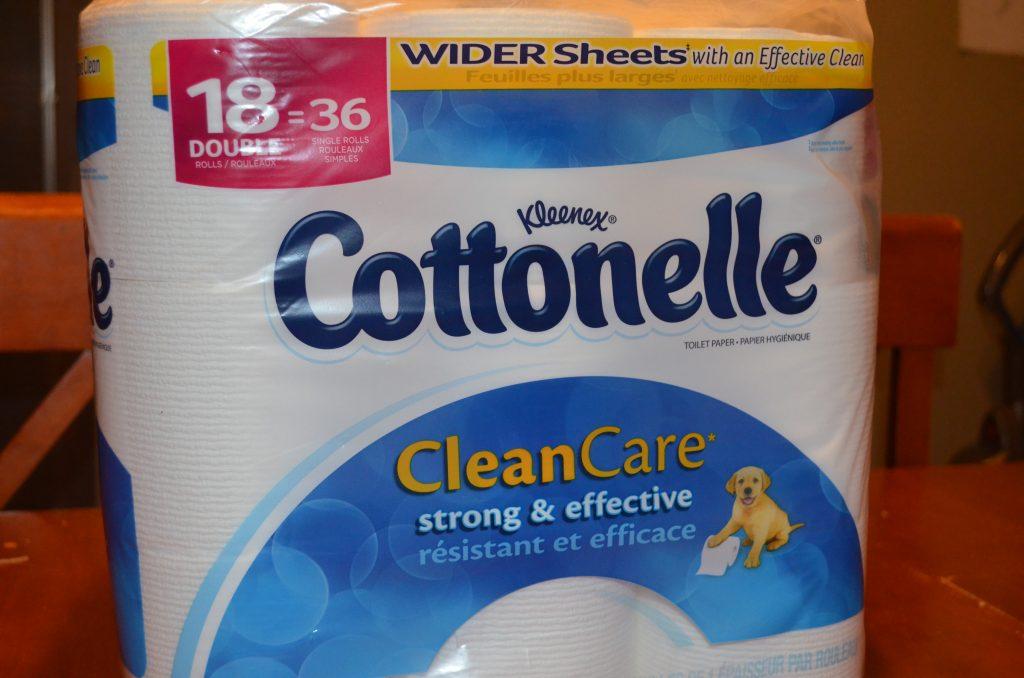 Cottonelle Ultra Toilet Paper #LetsTalkBums