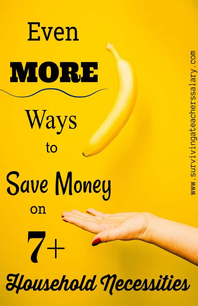 """More Ways to Save Money on 7 Household """"Necessities"""""""