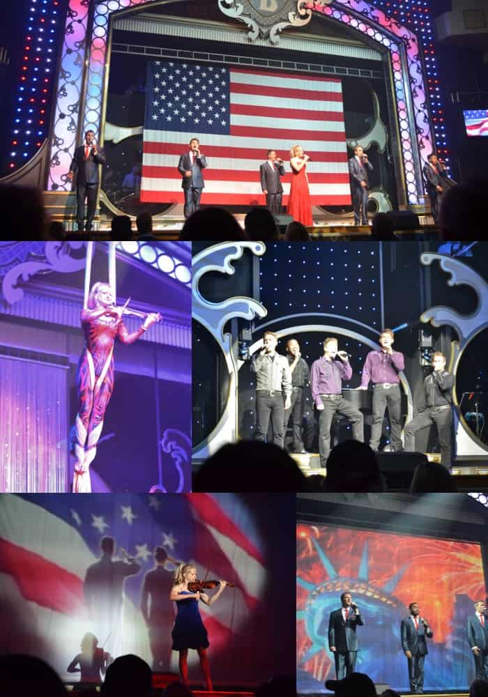 Showboat Branson Belle Family Trip  Collage
