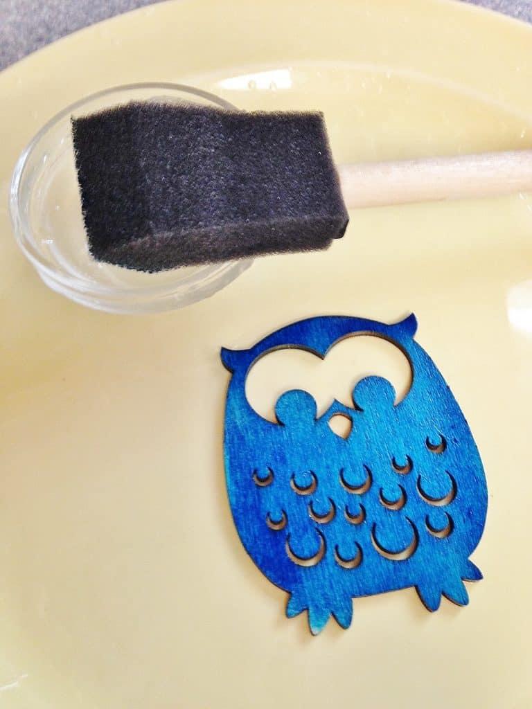 DIY handmade air freshener gift tag