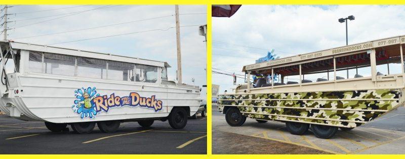 ride the ducks branson MO