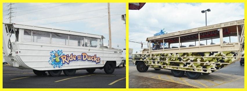 ride the ducks in branson MO