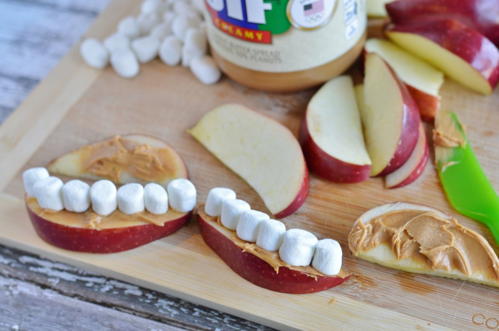 kids healthy mouth teeth snack