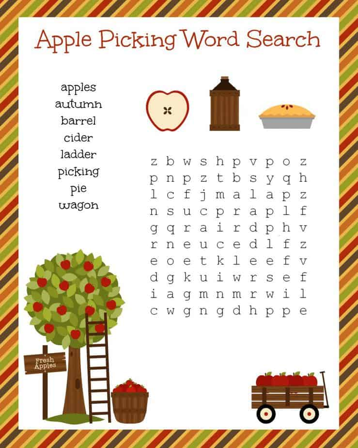 apple-picking-word-search