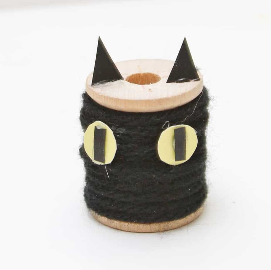 halloween black cat kids craft
