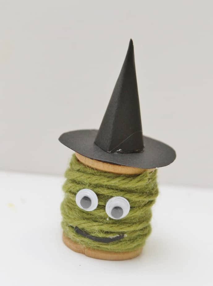 halloween witch kids craft