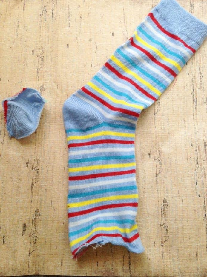 DIY new Sew Baby Leg Warmers Frugal gift