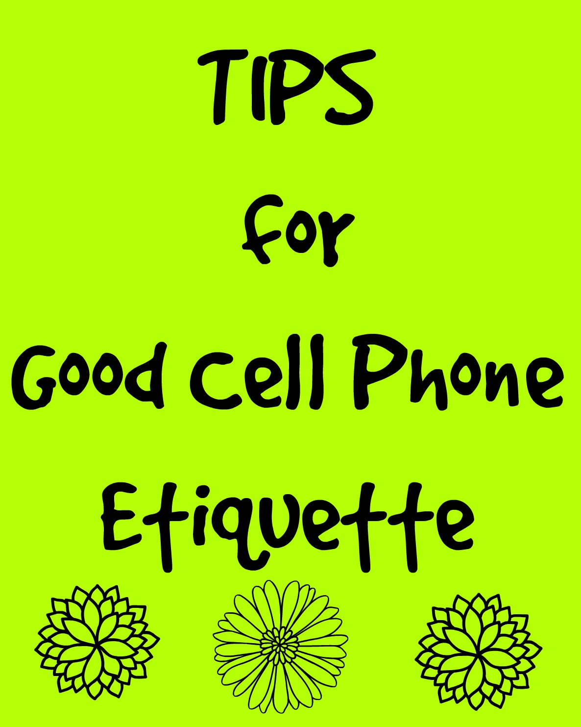 cell phone rules for couples