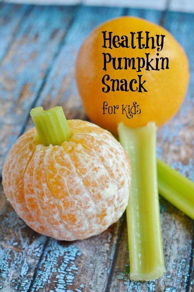 Healthy Pumpkin Snack for Kids