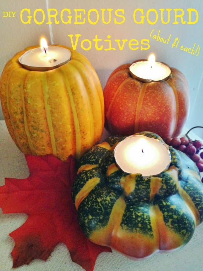 gourd fall DIY home decor