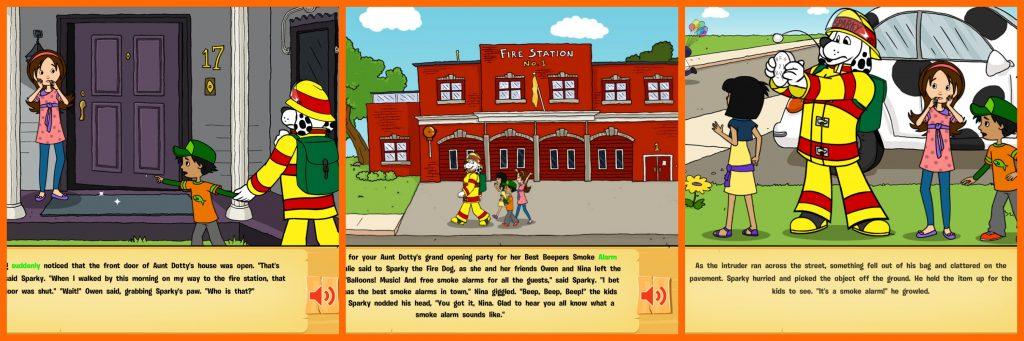 sparky app book for kids