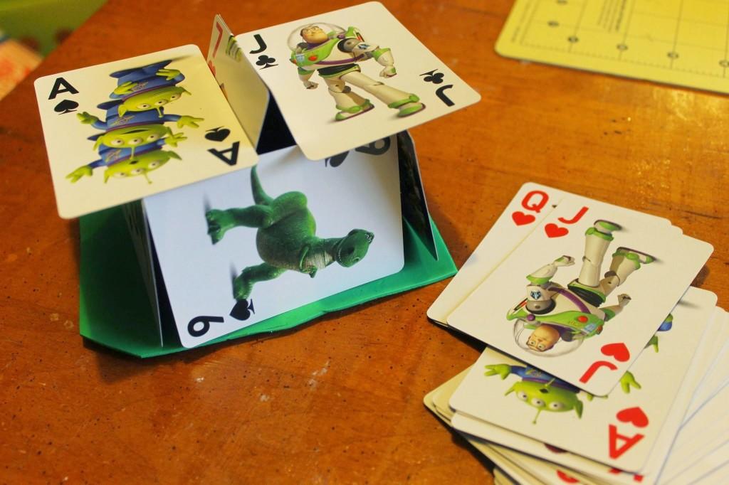 einstein house of cards