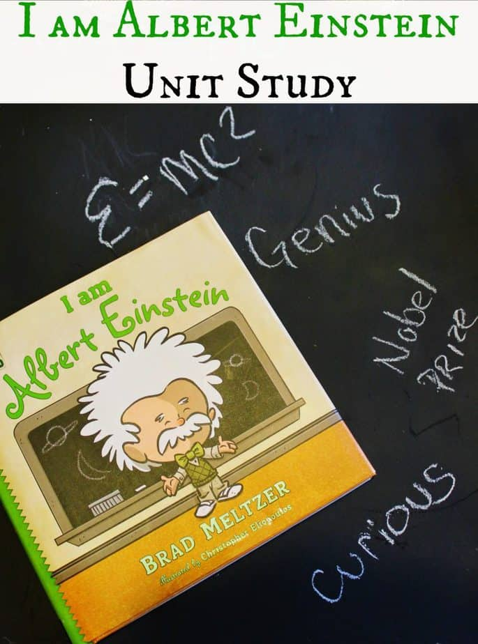 i am einstein book unit study