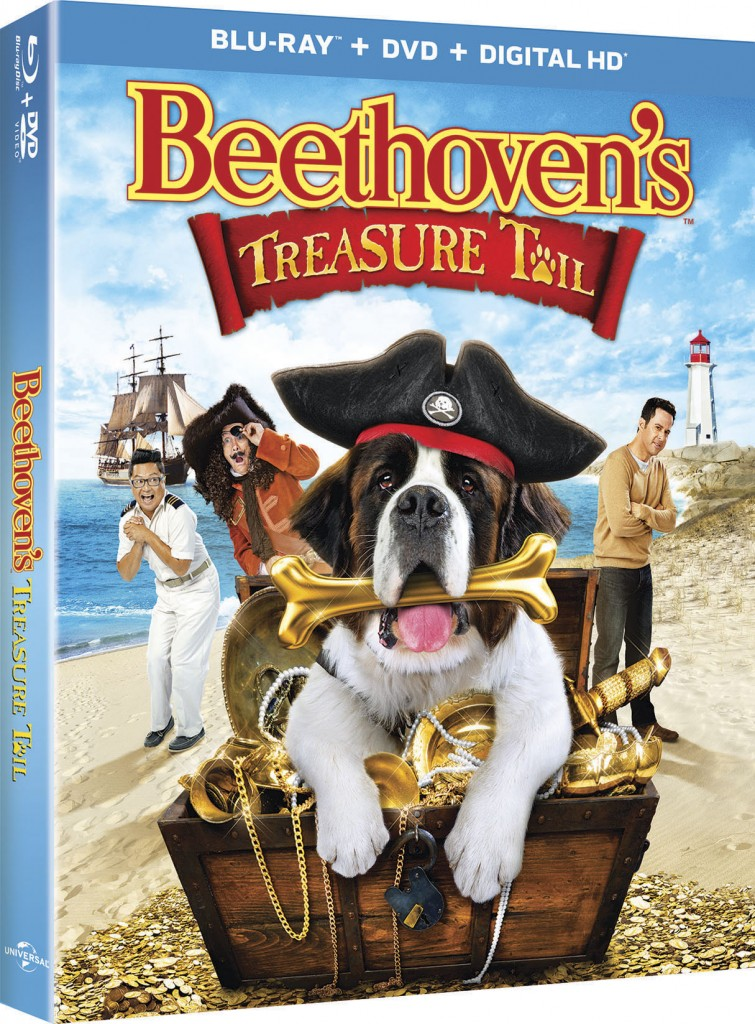 FAMILY Movie Night Beethovens Treasure Tail Coloring Sheets