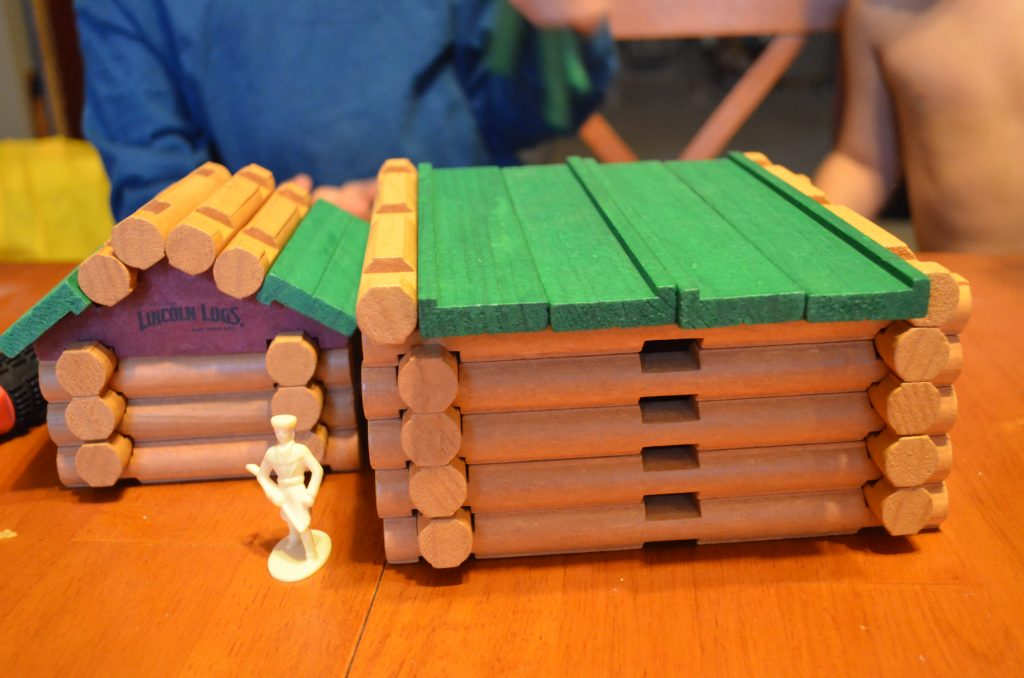 f190440f38 Believe it or not I didn t grow up with Lincoln Logs and neither did my kids  until this year! And BOY have we all been having fun! Even I love building  with ...