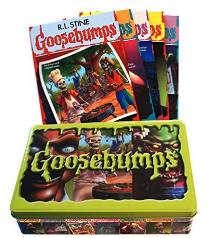 R.L. Stine's Goosebumps Retro Scream Collection book tin