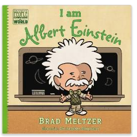 I am Albert Einstein childrens book by Brad Meltzer
