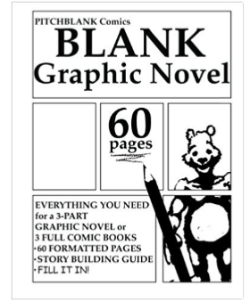 Blank Graphic Novel Book