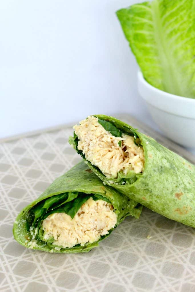 Chicken Caesar Wraps Crock Pot Dinner Recipe