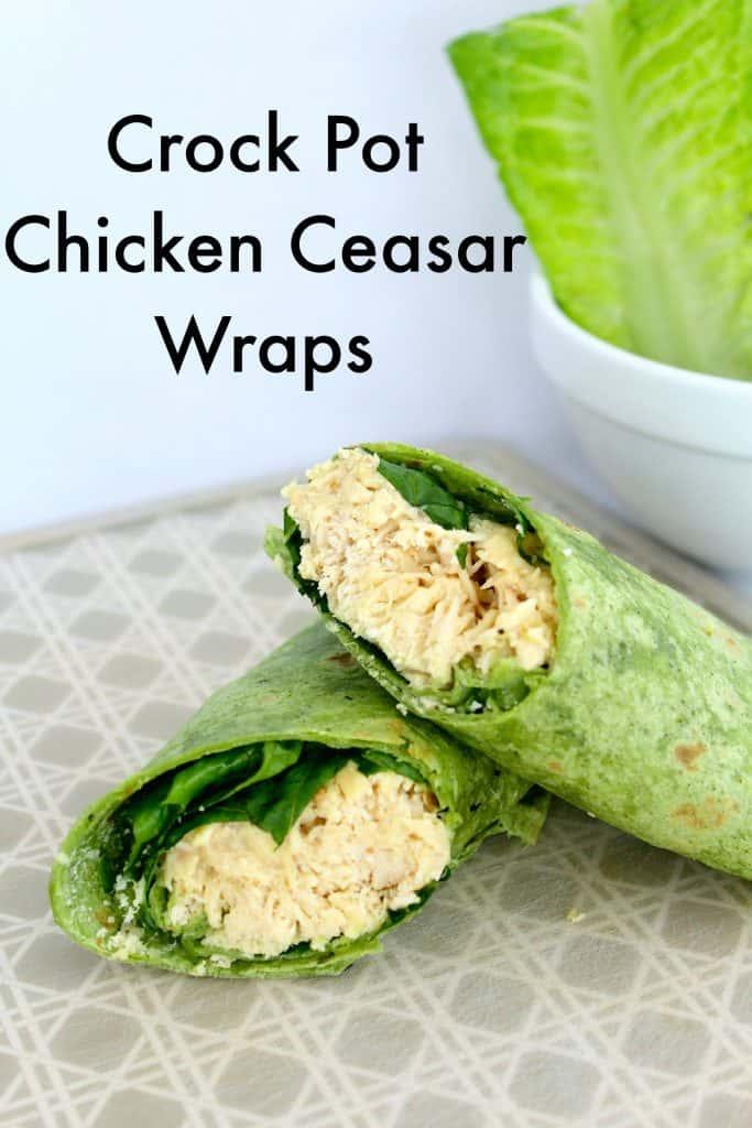 Caesar Wraps slow cooker recipe