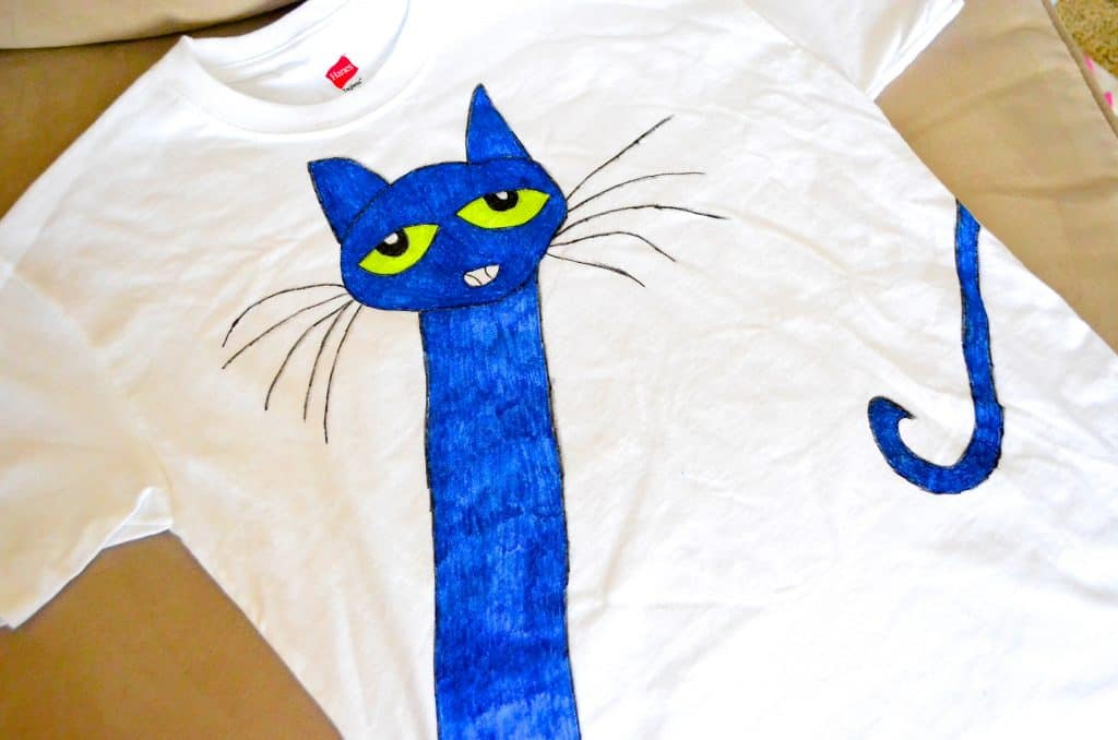Pete the Cat kids Tshirt for kids