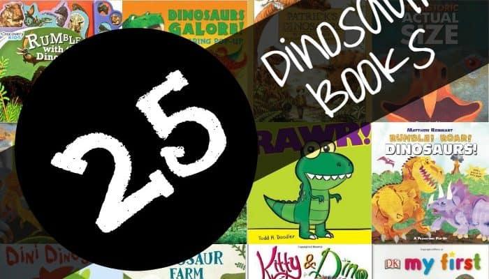 25 Children's Dinosaur Books for Kids!