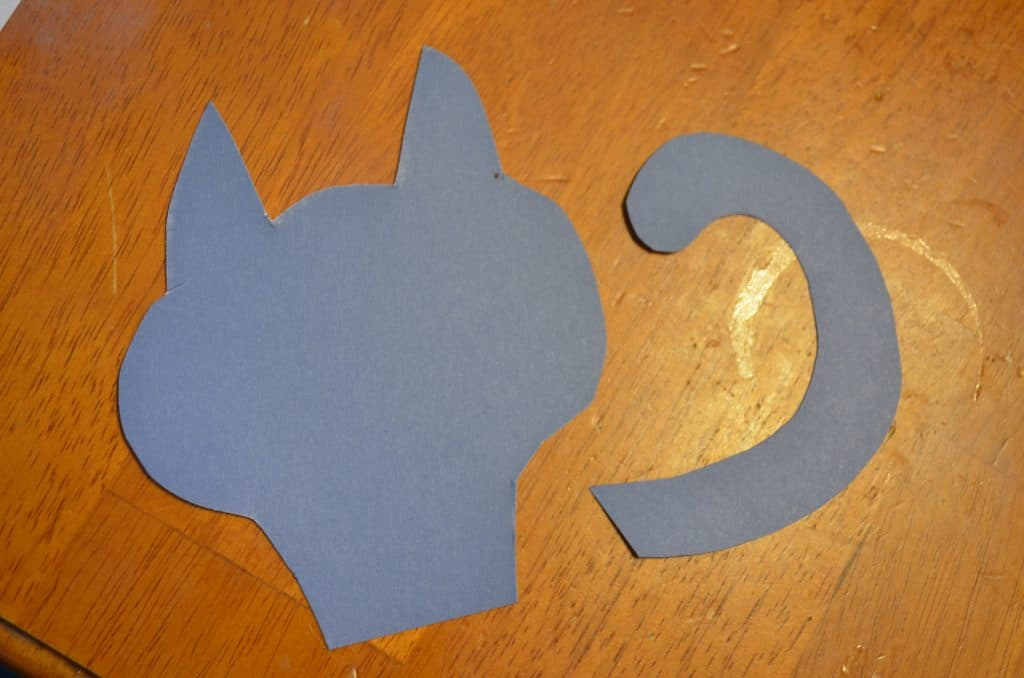 pete the cat paper head and tail