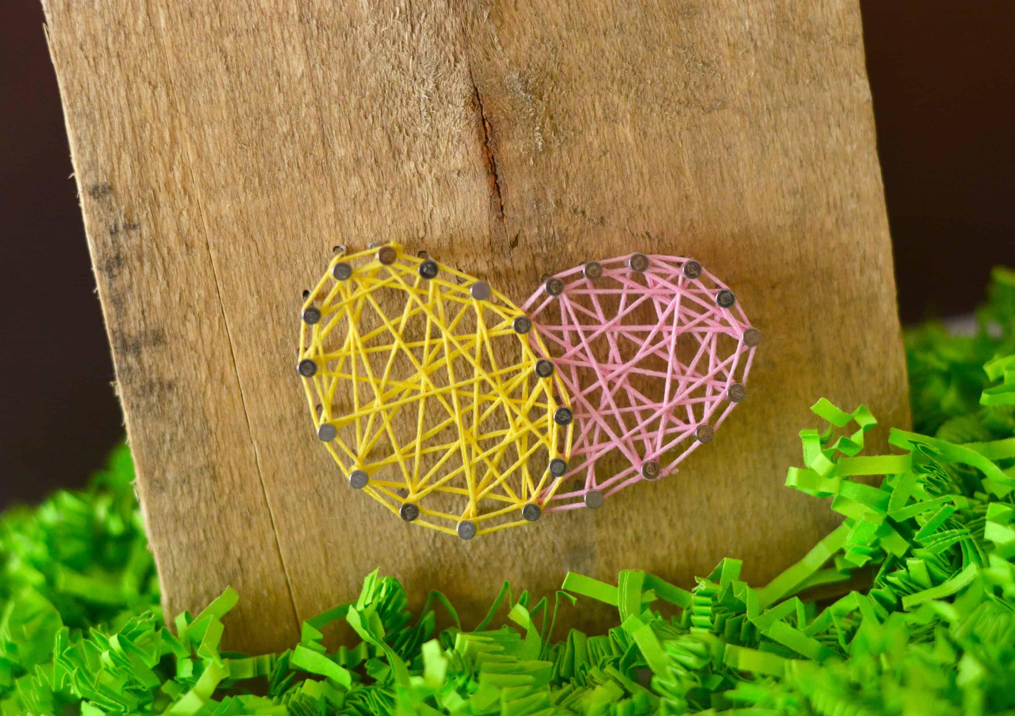easter string art home decor craft