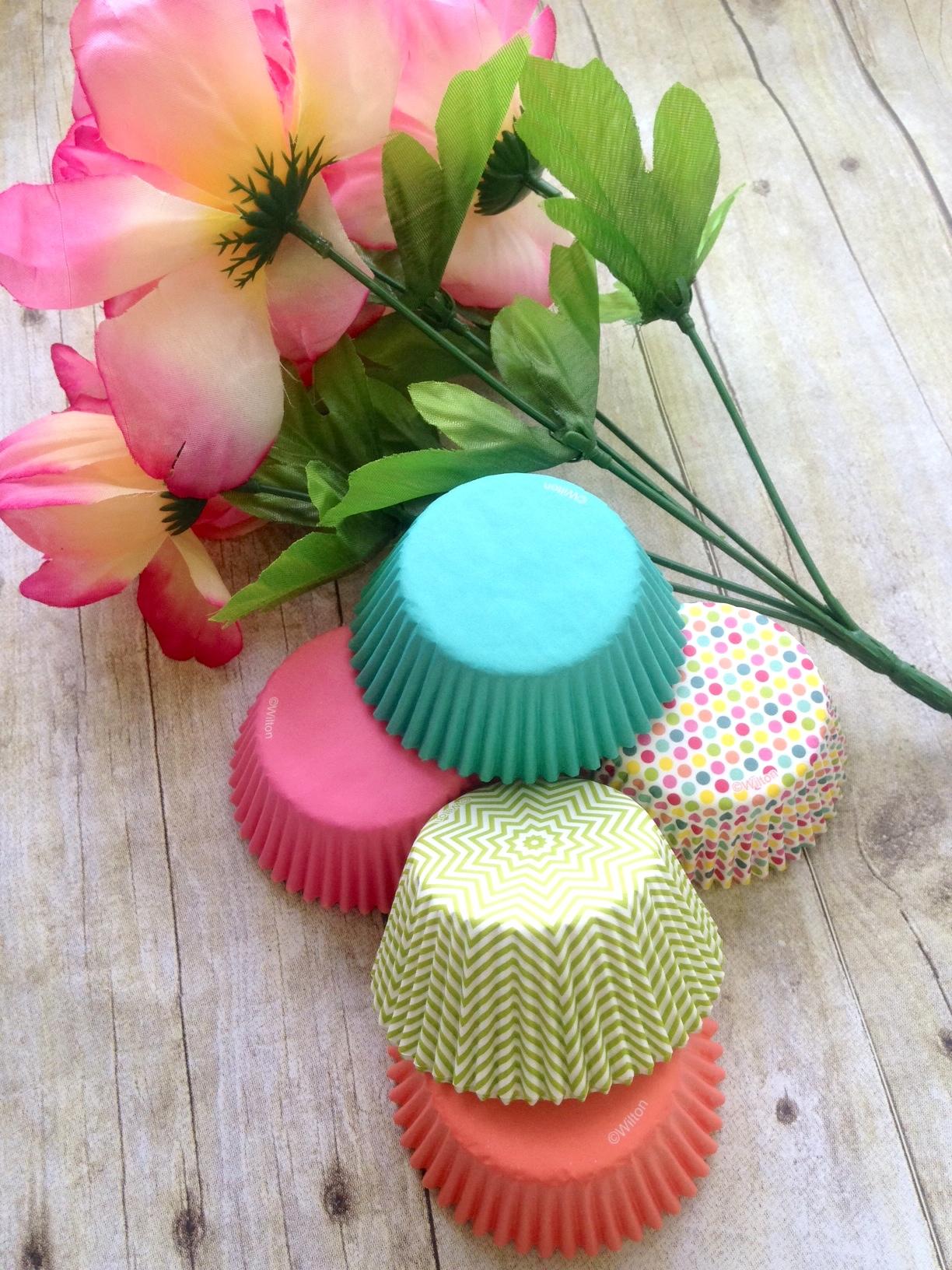 Spring cupcake cup paper bouquet craft cupcake flower bouquet craft izmirmasajfo