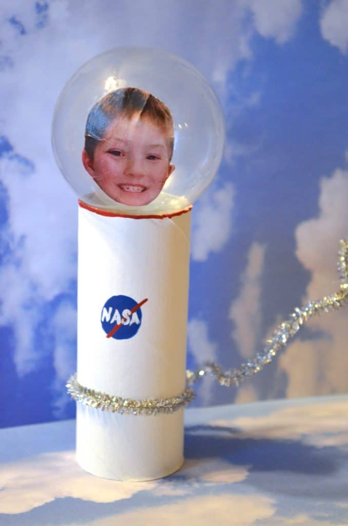 Astronaut Toilet Paper Tube Craft for Kids