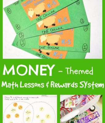 Money-Themed Math Lessons & Rewards System