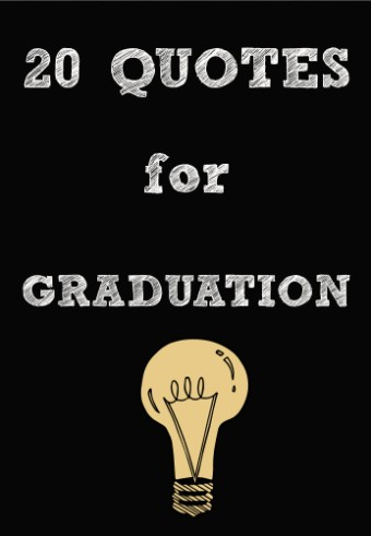 quotes for graduation light bulb