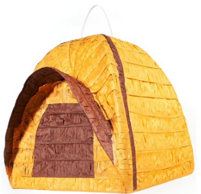 Tent Camping Birthday Party