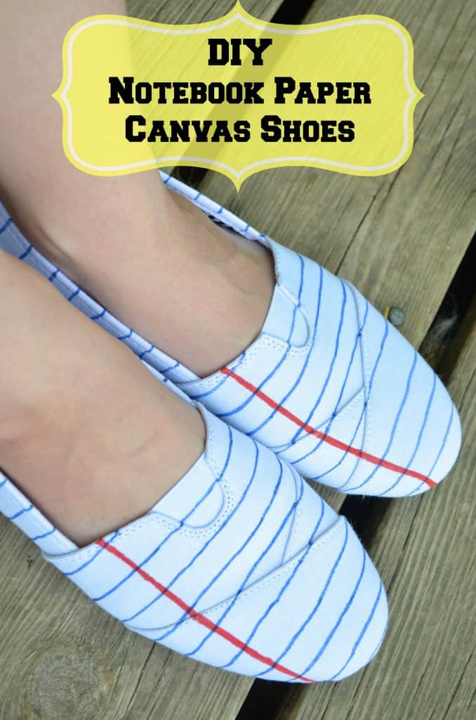 Notebook Paper Teacher Fashion Shoes