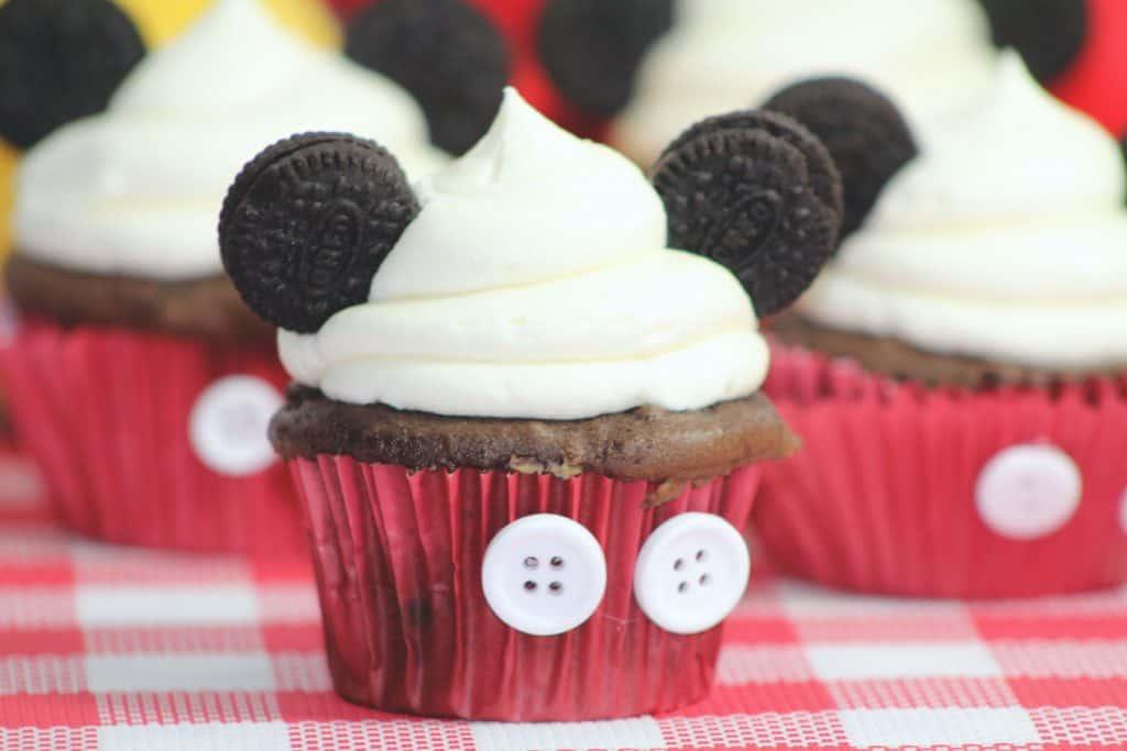 cute Disney Mickey Mouse Cupcakes Recipe Tutorial