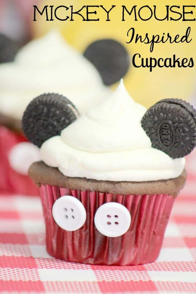 Disney Mickey Mouse Cupcakes Recipe